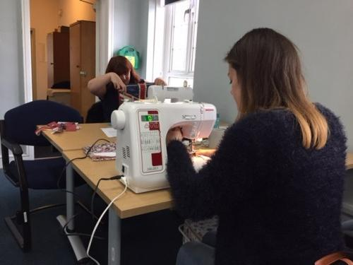 Kirsty's sewing class 2